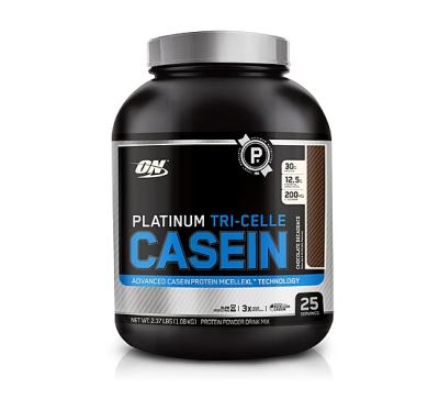 On platinum tri-cell casein