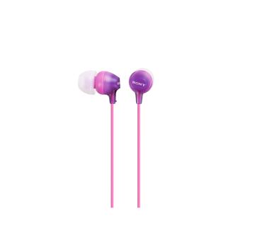 Audifono violeta in ear sony