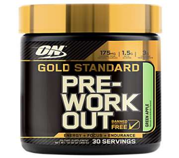ON GOLD STD PRE WORKOUT