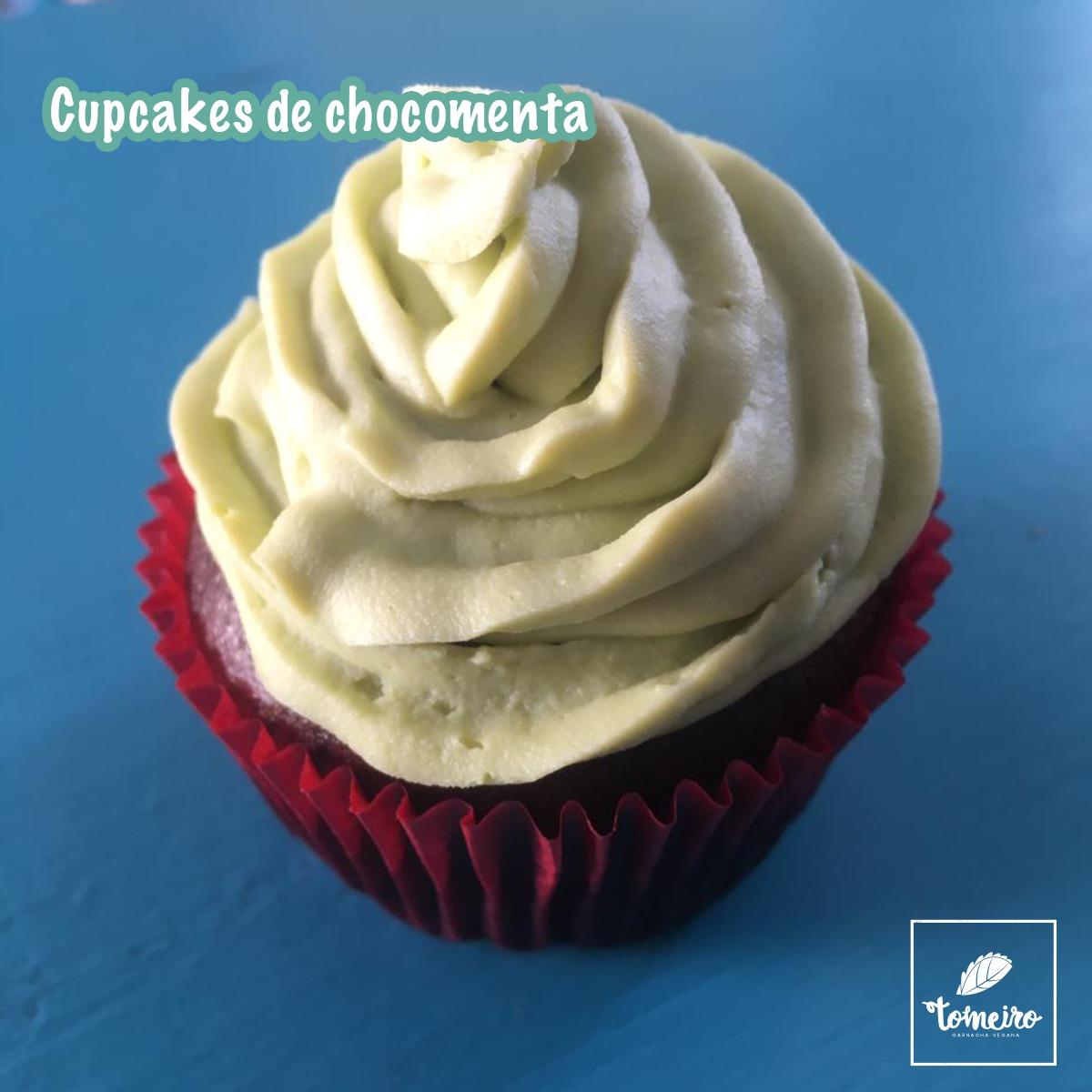 Cupcake de Chocomenta