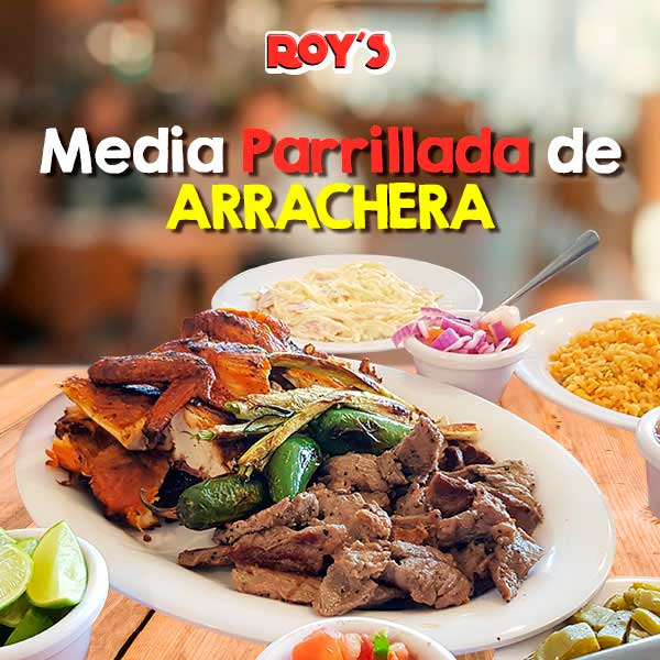 Media Parrillada de Arrachera