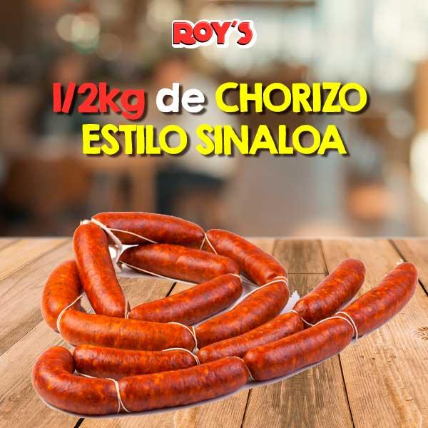 Chorizo Estilo Sinaloa 1/2kg