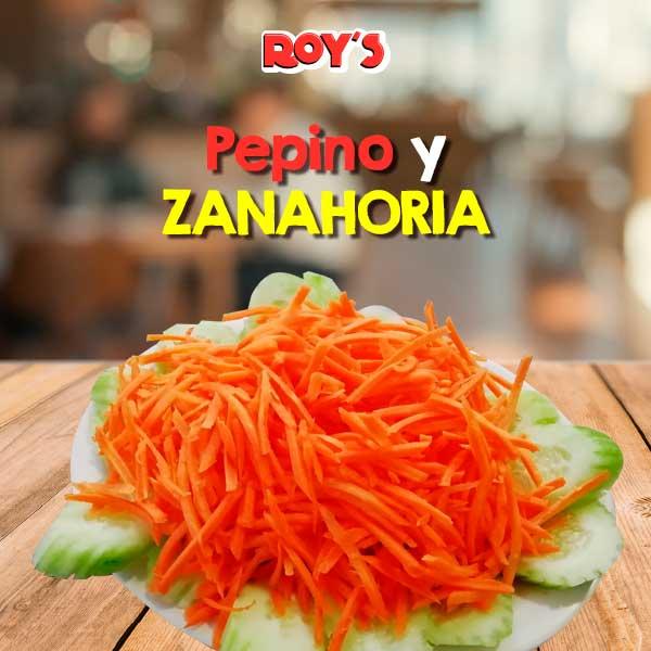Pepino y Zanahoria
