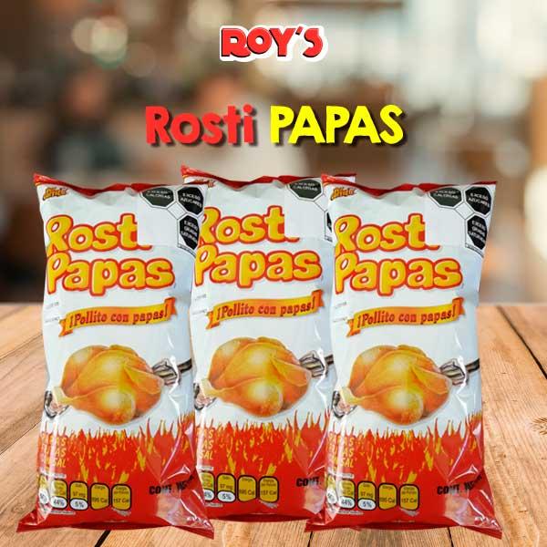 Bolsa de Rosti Papas