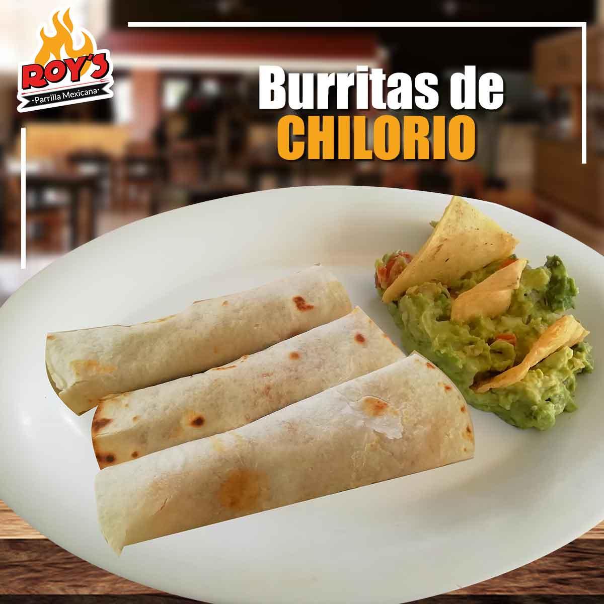 Burritas de Chilorio