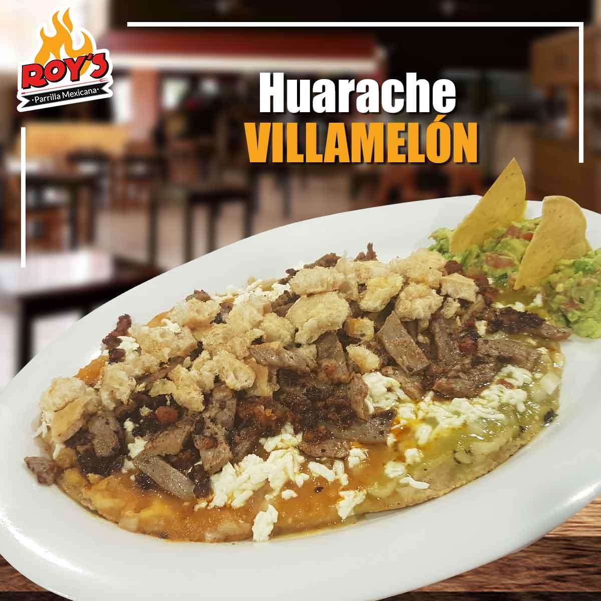 Huarache Villamelón