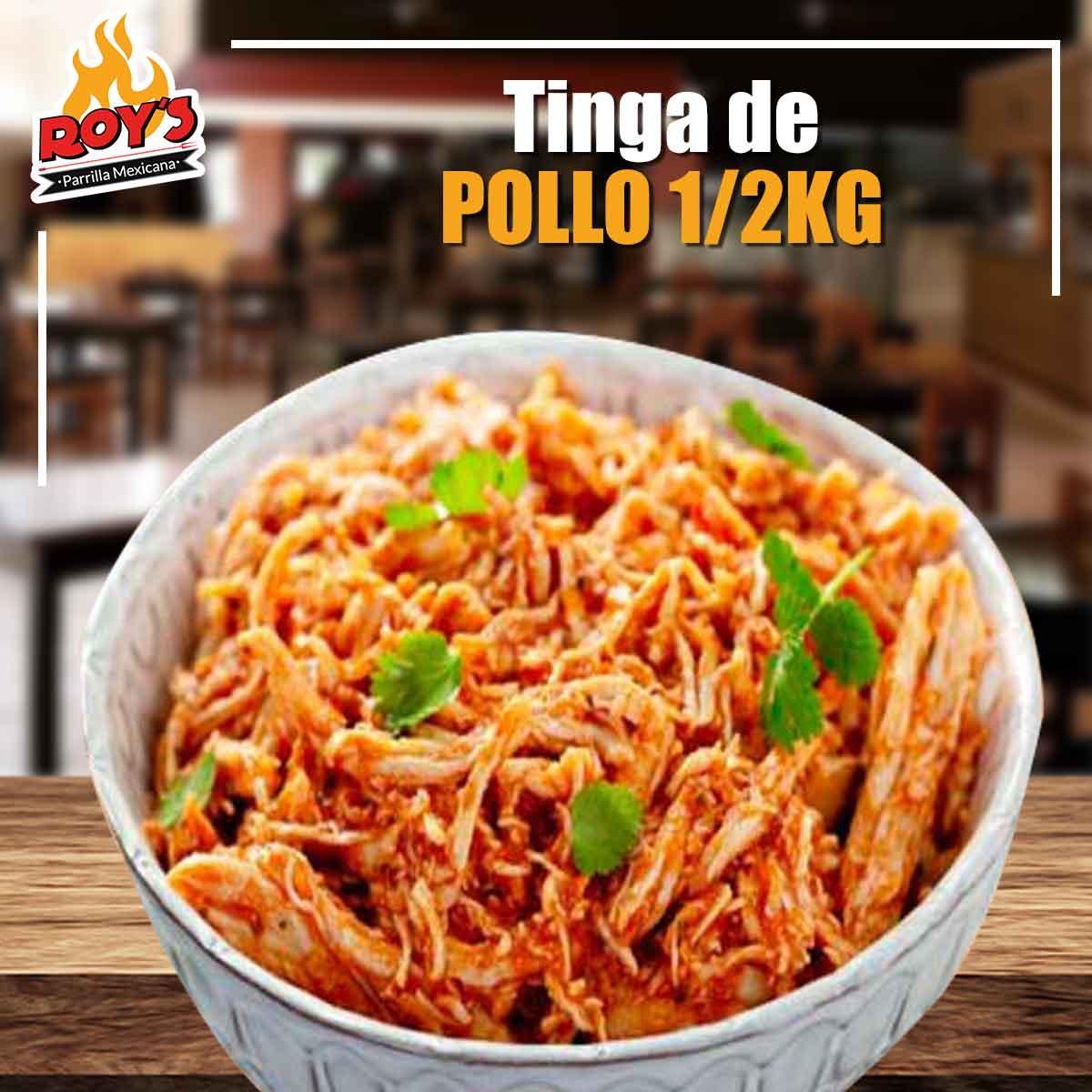 Tinga de Pollo 1/2kg