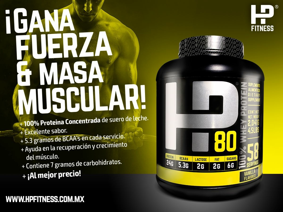HP80 100% whey protein